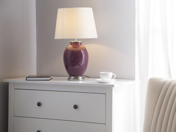 Tischlampe BRENTA, Violett CH