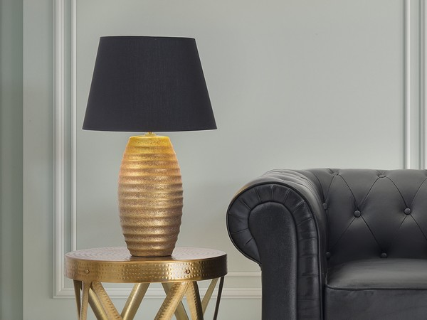 Tischlampe EBRO gold CH