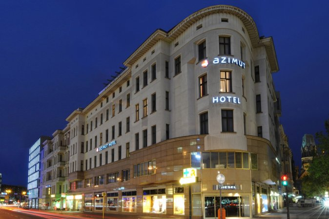 Hauptstadt Kurzurlaub zu zweit im AZIMUT Hotel Kurfürstendamm Berlin