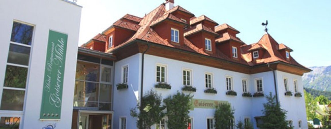 Erholungsurlaub in Oberösterreich im 4* Wohlfühlhotel Goiserer Mühle