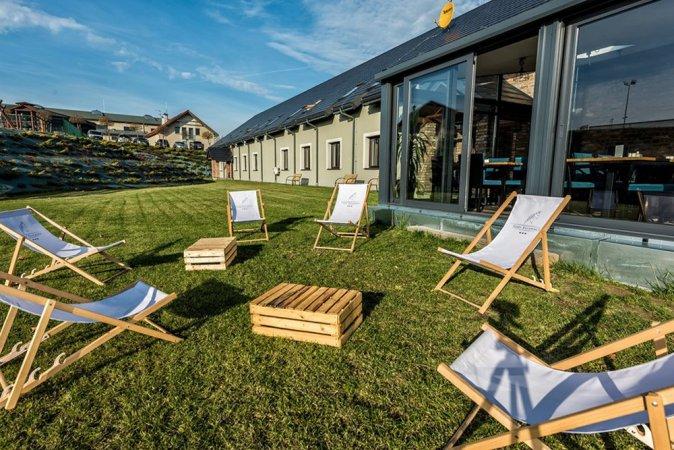 Urlaub mit Halbpension in der Szary Residence nahe Krakau am angesehenen Reitzentrum Szary