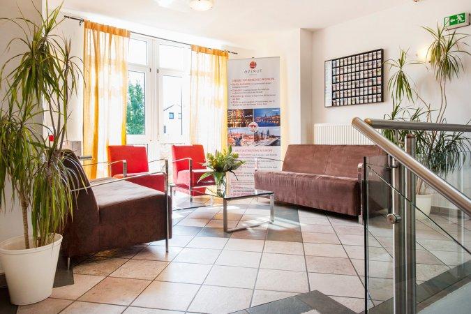 Erholungsurlaub zu zweit in Oberbayern im AZIMUT Hotel Erding